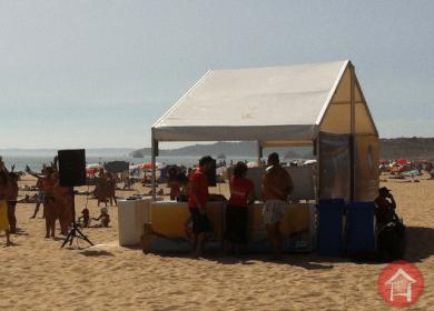 Tenda para Praia