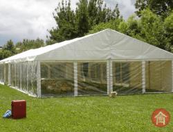 tendas de jardim