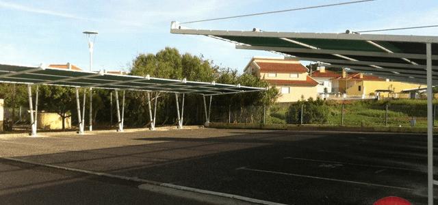 Toldos para Parques de Estacionamento